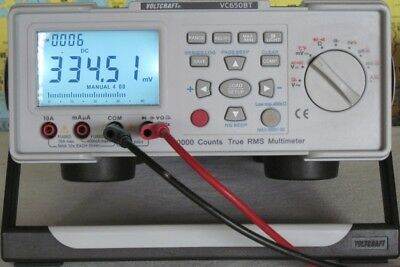Digitalmultimeter Voltcraft VC650BT