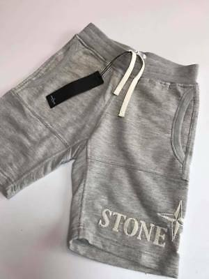 BNWT  STONE ISLAND JUNIOR Jogger Cotton Shorts .Embroidered logo detail Age 6
