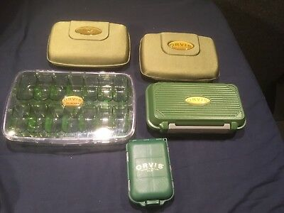 Orvis Fly Box Collection