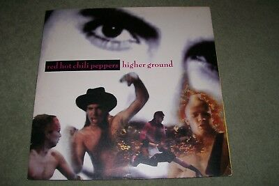 red hot chili peppers 12 inch vinyl higher ground ,emi usa 1989