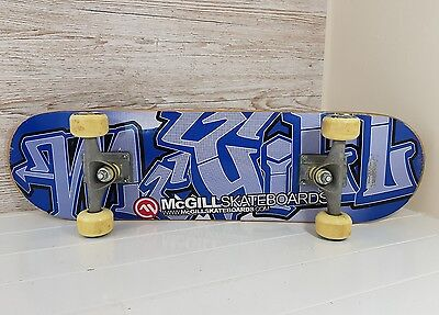 Modern Mike McGill Plywood Graffiti Skateboard