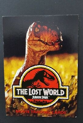 Jurassic Park The Lost World Set Of 72 Collector Cards + 11 Stickers 1997 Topps