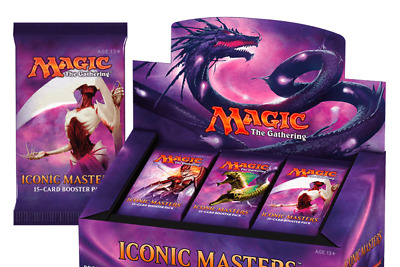 Magic the Gathering Iconic Masters New/Sealed Booster Box - Preorder Ships 11/17