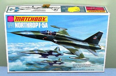 Vintage Model Aircraft Kit of the Northrop F-5A 1/72 scale by Matchbox PK-12