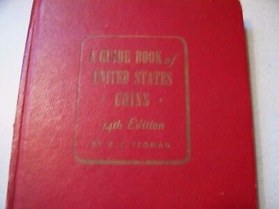 Vintage A Guide Book of United States Coins 1961, R.S. Yeoman, 14th Edition VGC
