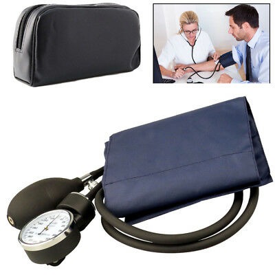 Blood Pressure Monitor Manual Stethoscope+Sphygmomanometer Nurse Equipment LIUK