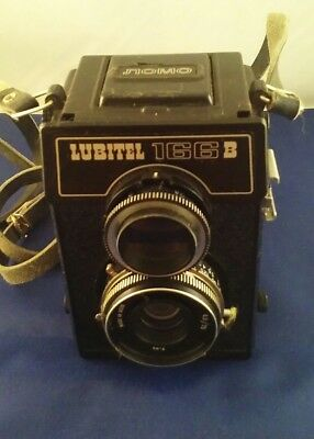 Lomo Lubitel 166B TLR 120 roll film camera. Made in USSR
