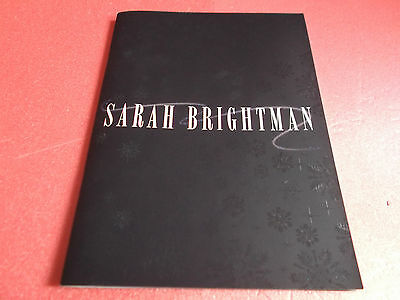 VERY RARE! Sarah Brightman in concert with Orchestra 2014 Japan Tour Program
