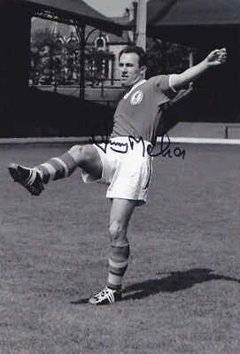 *REDUCED PRICE* HAND SIGNED 12x8 PHOTO LIVERPOOL 1958 JIMMY MELIA
