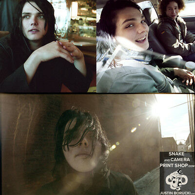 Rare 2004 My Chemical Romance Images - Lot of 3 Signed photos