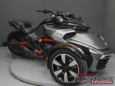 Can-Am SPYDER F3-S SM6  2015 Can-AM SPYDER F3-S SM6 Used FREE SHIPPING OVER $5000