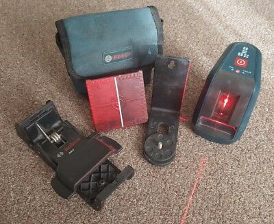 Bosch Professional GLL 3-15 Laser w/ all accessories, lightly used