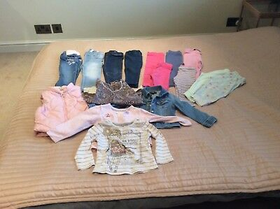 Next, H&M and more baby girl bundle 12-18 mth