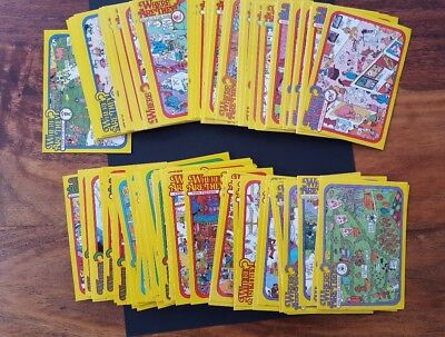 Where Are They? Set Of 110 Collector Cards 1992 Pacific Trading