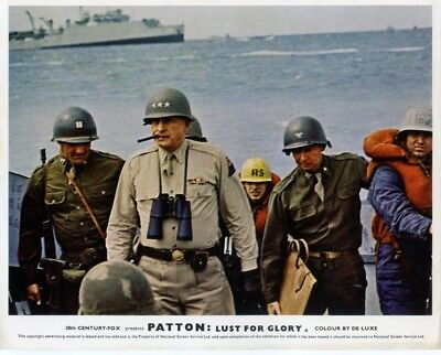 Patton: Lust For Glory - Full Set Of 8 British Lobby Cards
