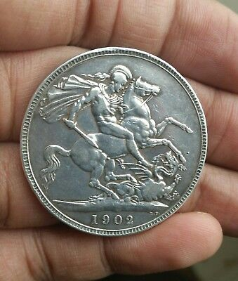 1902 Silver Crown In Very Good Condition
