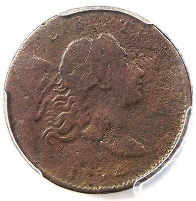 1794 Liberty Cap Flowing Hair Half Cent 1/2C - PCGS Fine Detail - Rare Coin
