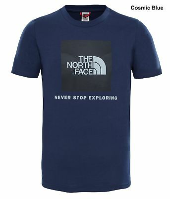 The North Face Youth Box Short Sleeve Tee - Kids Cotton T-Shirt