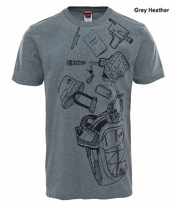 The North Face Mens Short Sleeve Expedition Kit Tee - Cotton T-Shirt