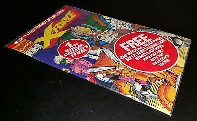 X-Force #1  Collector's Item Issue!!  N.m.!!  Still In Bag With Collector Card!!