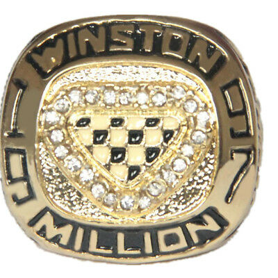 1997 Million cup Jeff Gordon championship ring Trophy Prize gold plated  size 11