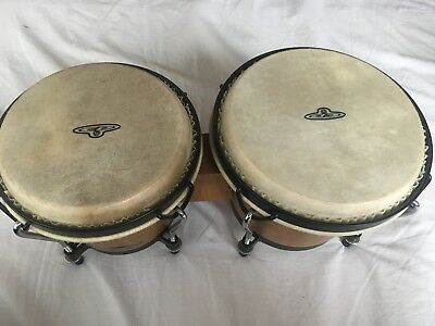 LP Latin Percussion CP221-AW Traditional Bongos - Natural Wood