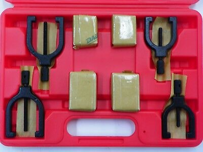 Spi 8pc V-BLOCK SET (2 sizes) WITH CLAMPS AND CASE      B402