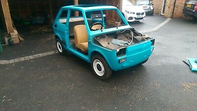 1978 Fiat 126 rolling shell project - RHD - very rare!