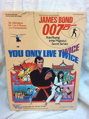 James Bond 007 RPG- You Only Live Twice Adventure Module - 0912515082