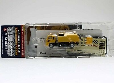 N Scale Fujimoto Kato HS-60 Street Sweeper Truck Yellow for Layouts