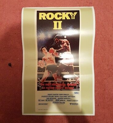 "Small Rocky II Movie Poster 17"" x 11"""