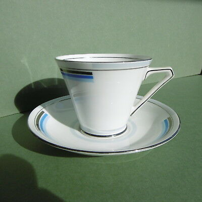 SUPERB Orig FINE QUALITY ART DECO Bell CHINA Teacup & Saucer ...c1930's