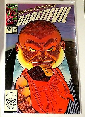 Daredevil #253 Marvel Copper Age Comic CB1036