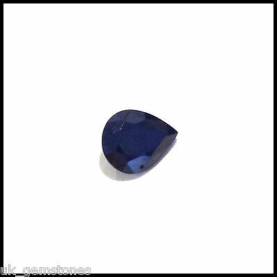 Natural Deep Blue Pear Sapphire, 2.15ct  Madagascar: Single Stone.