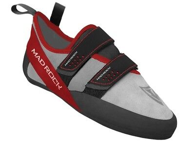 Mad Rock Men's Climbing Shoe red and grey 8.5