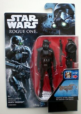 """Star Wars IMPERIAL DEATH TROOPER Rogue One Hasbro 3,75"""" Action-Figure Eu-Card !!"""