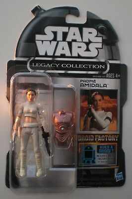 Star Wars PADME AMIDALA Legacy Collection Black Series lost wave Droid Factory !
