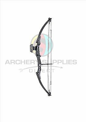 "ASD Black Lynx Compound Archery Bow 45-55 lbs, 27-29"" * Shop Display Model 007 *"