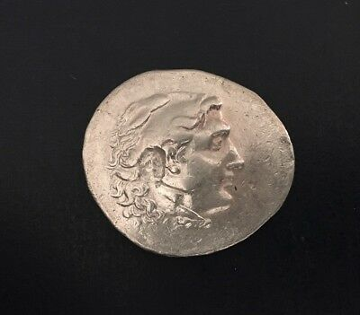 Alexander The Great Ancient Greek Coin Tetradrachm with COA