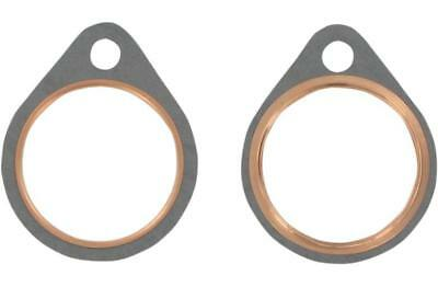 James Fire Ring Exhaust Port Gaskets for Harley 1966-84 FX FL 65834-68-X2