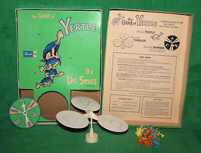 *1960 Revell The Game Of Yertle by DR. Seuss Complete