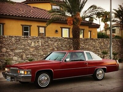 1978 Cadillac DeVille Coupe - Very Nice! 1978 Cadillac Coupe DeVille - LOW MILES ONE OWNER