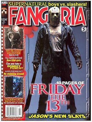 FANGORIA MAGAZINE ON 5 PRINTED DVDs GREAT HORROR MAG