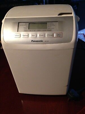 Panasonic Sd-257 Bread Maker/machine With Auto Raisin/nut Dispenser