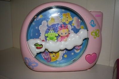 Fisher Price Perfectly Pink Dreamland Soother Projection Light Show
