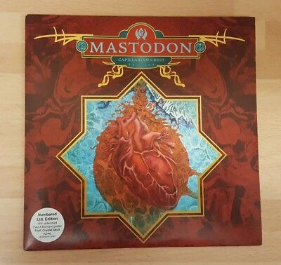 "Mastodon 'capillarian Crest' Numbered 7"" Vinyl Single With Poster"