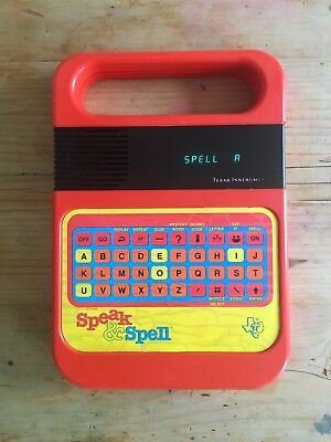 Retro Vintage Speak & Spell Perfect Working Order