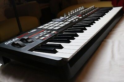 Akai MPK49 MIDI Keyboard Used and Fully Working