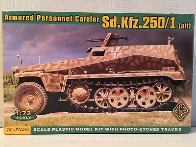 Sdkfz 250/1 Alt Armored Personnel Carrier 72240 1/72 ACE