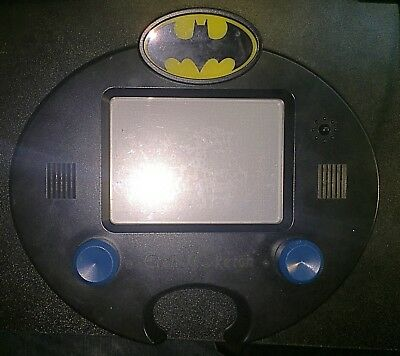 Batman Electronic Etch A Sketch Tested Works DC Justice League
